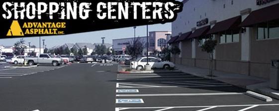 Striping parking lots